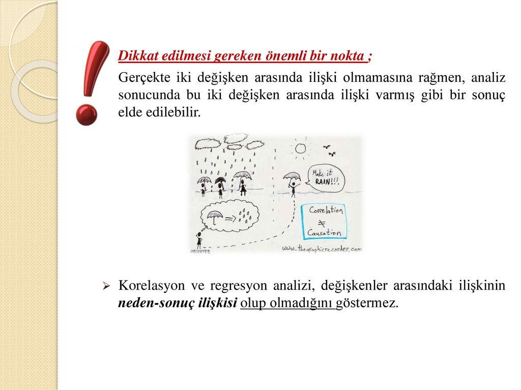Korelasyon katsayısı - korelasyon modelinin karakteristiği