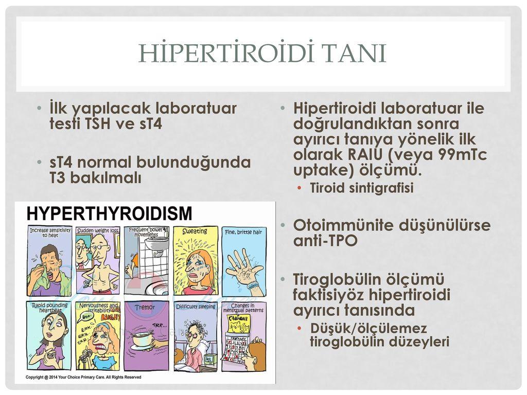 Ameliyat Sonrası Tsh Yüksekliği