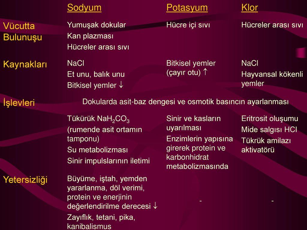 Fosfor: Görevleri – Eksikliği – Kaynakları