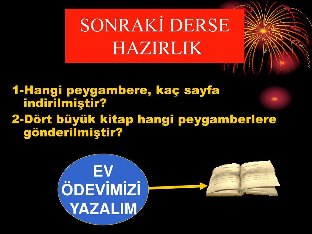 Hangi Kitap Hangi Peygambere İndirilmiştir