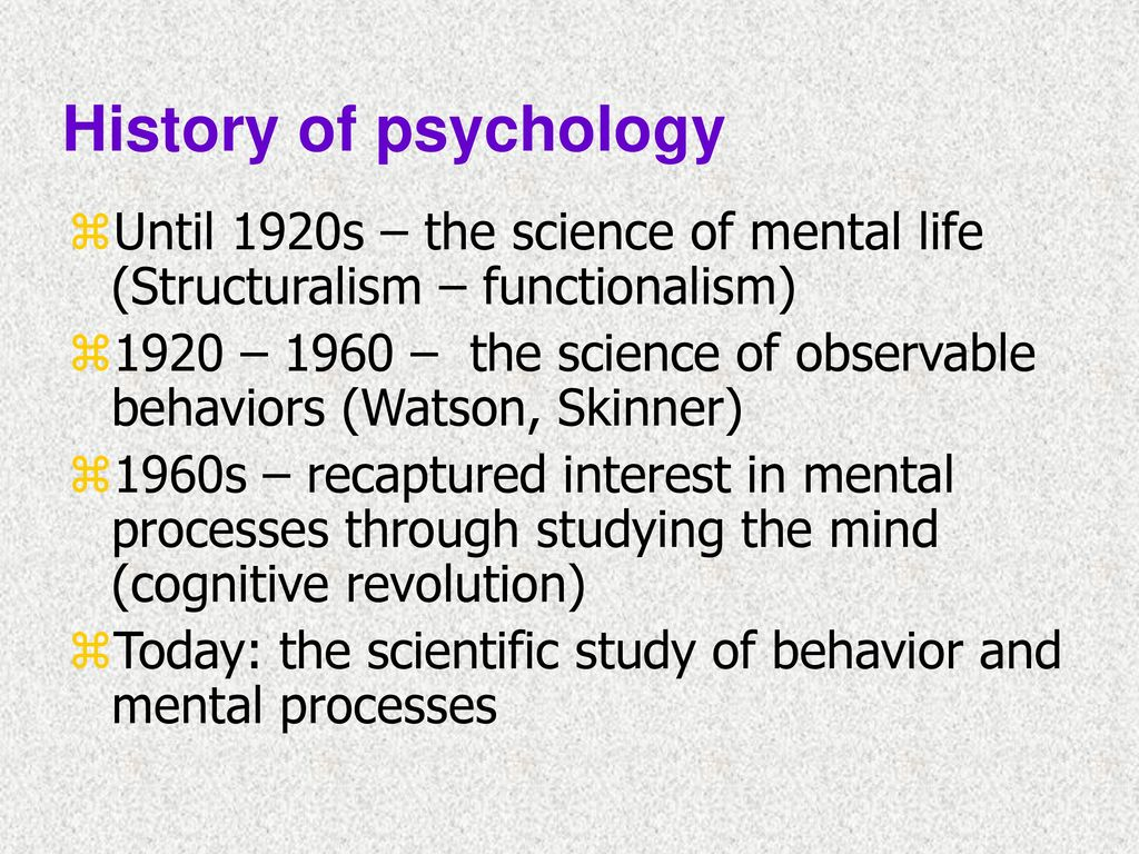 the history of behaviourism psychology essay Behaviorism: types, history, and today - behaviorism is one of the many schools of psychology and it has one main overall focus the main overall focus is it studies how a human behaves and is supposed to behave in order to detect human behavior discrepancies.