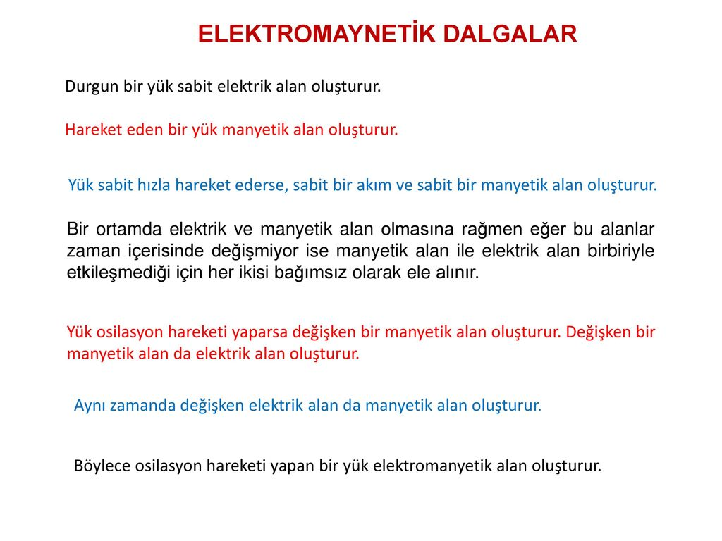 Çeşitli ortamlarda elektrik akımı