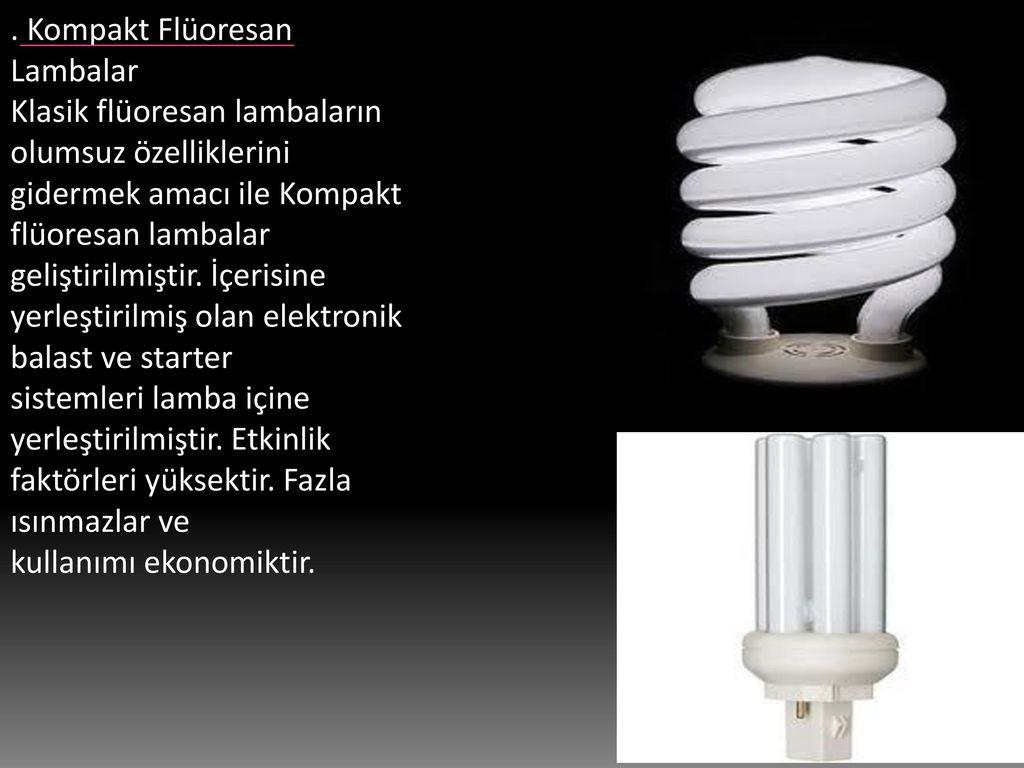 Bir gaz deşarj lambası nedir