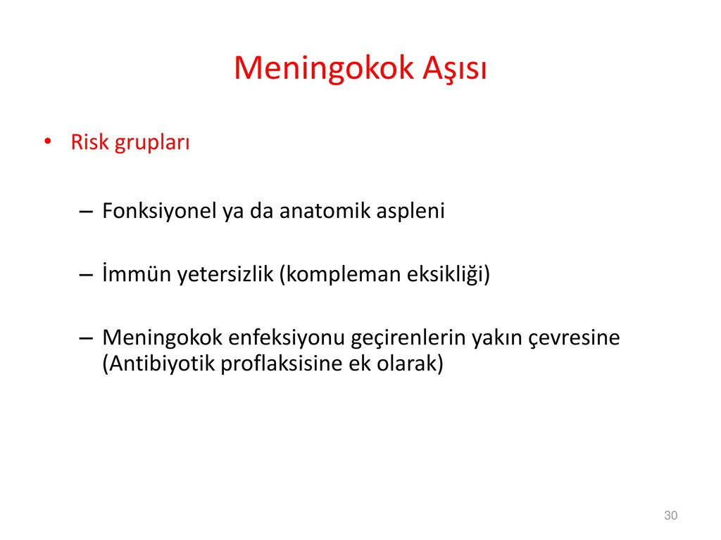 Meningokok enfeksiyonu