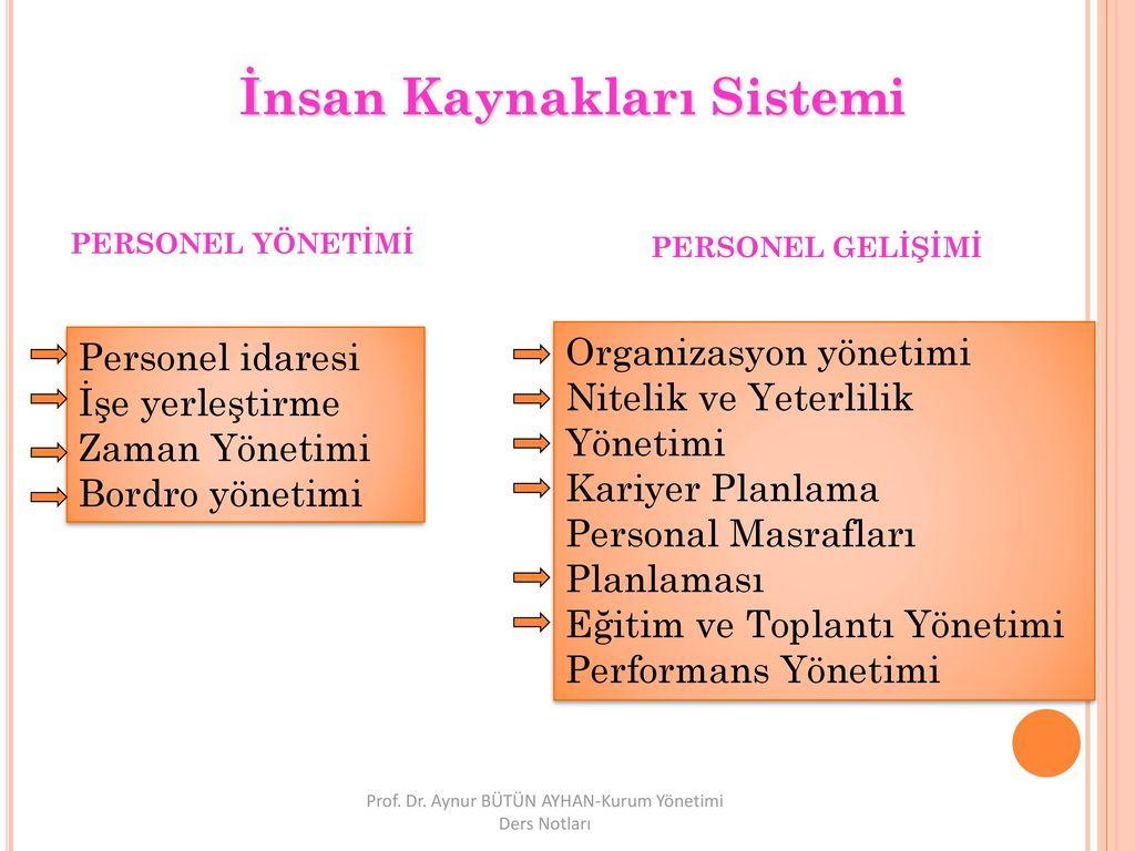 Personel gelişimi, personel eğitimi türleri