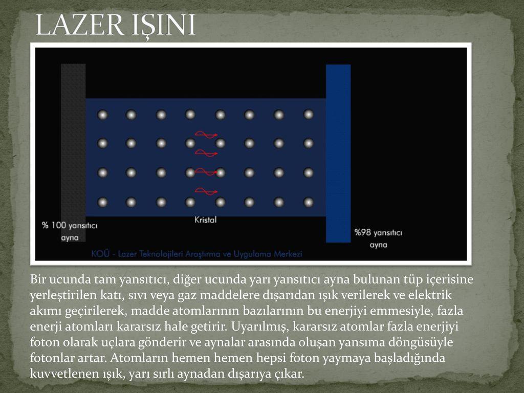 Lazer katı hal: çalışma prensibi, uygulama