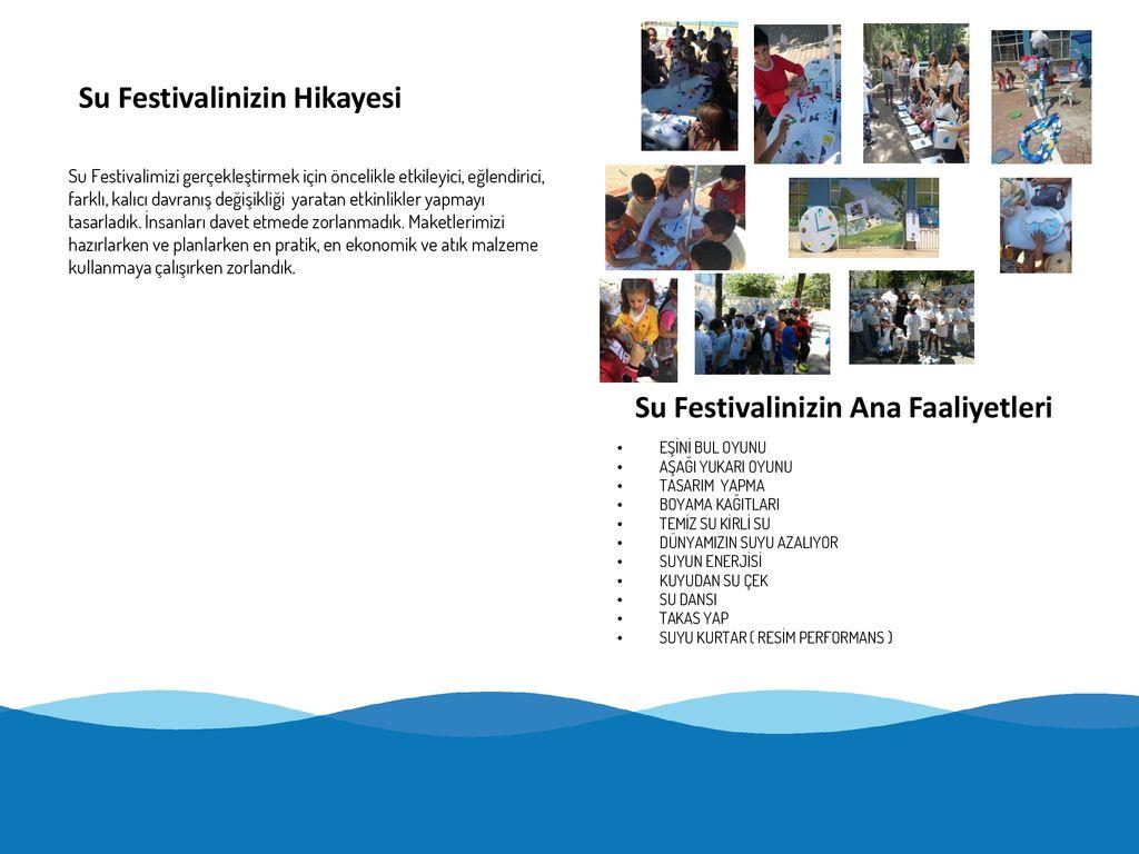 Açiklamalar Su Festivali Raporlama şablonuna Hoşgeldiniz ülkenizde