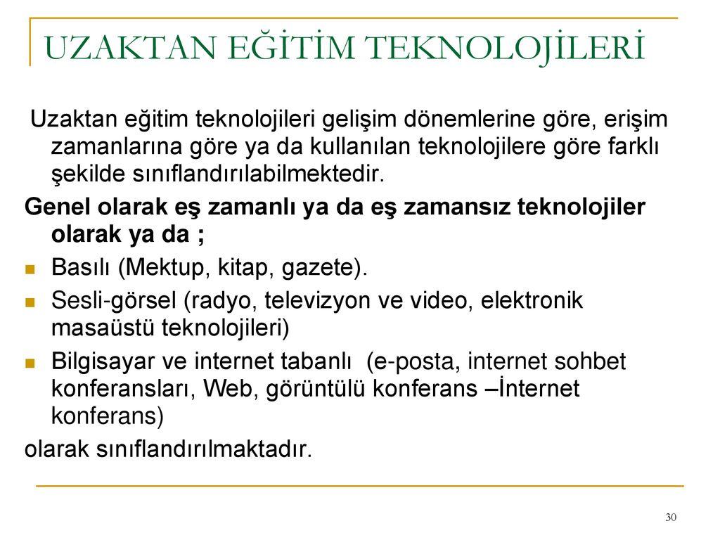 Gelişim Eğitim Teknolojisi