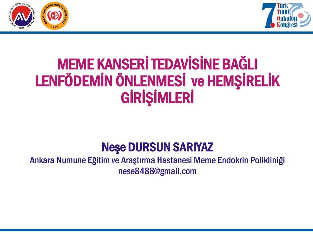 Ankara Numune Eğitim Ve Araştırma Hastanesi Meme Endokrin