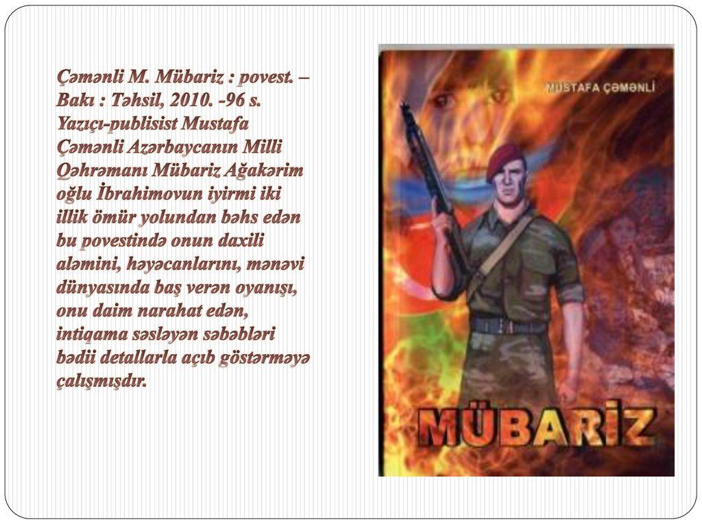 Mubarizə Davam Edir Mubarizlə Ppt Indir