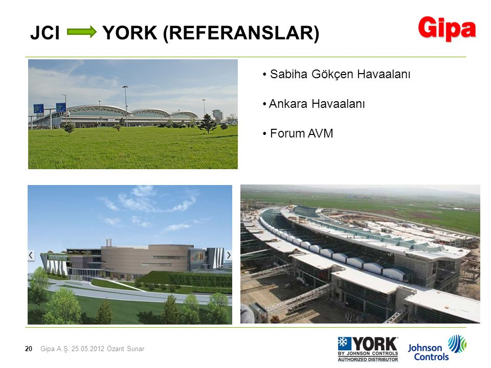 JCI YORK (REFERANSLAR)