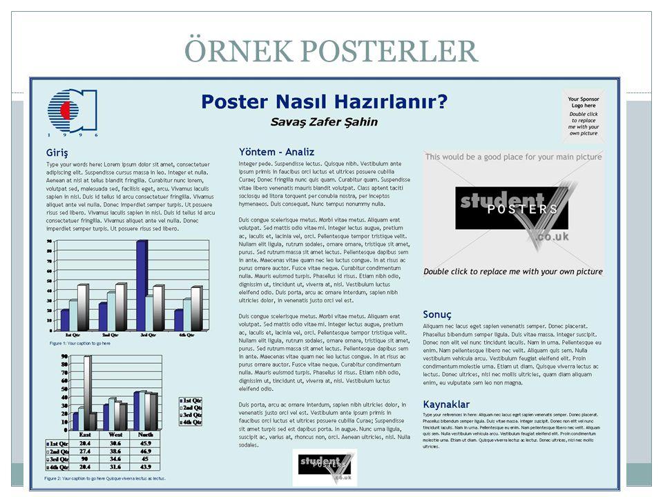 akademik poster ya da poster bildiri nas u0131l haz u0131rlan u0131r