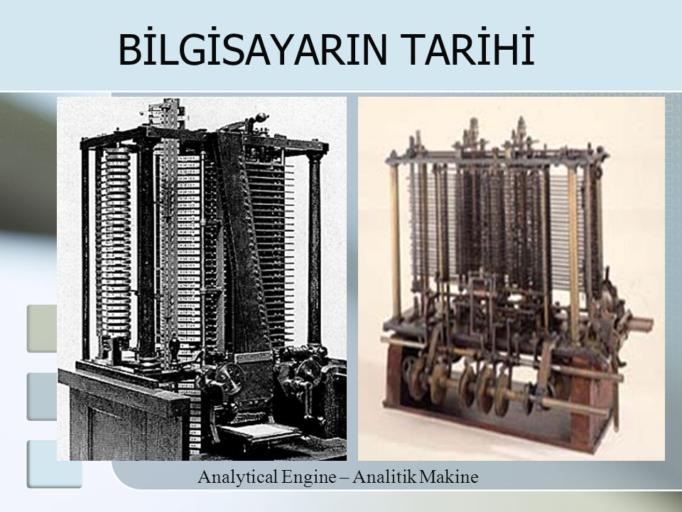 Analytical Engine – Analitik Makine