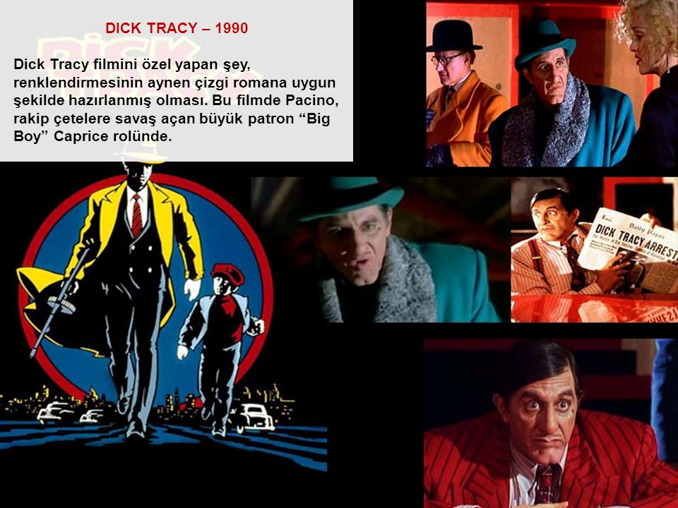 DICK TRACY – 1990