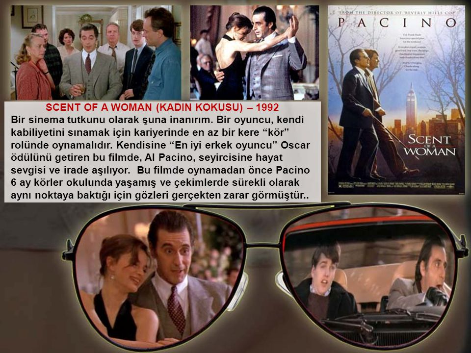 SCENT OF A WOMAN (KADIN KOKUSU) – 1992
