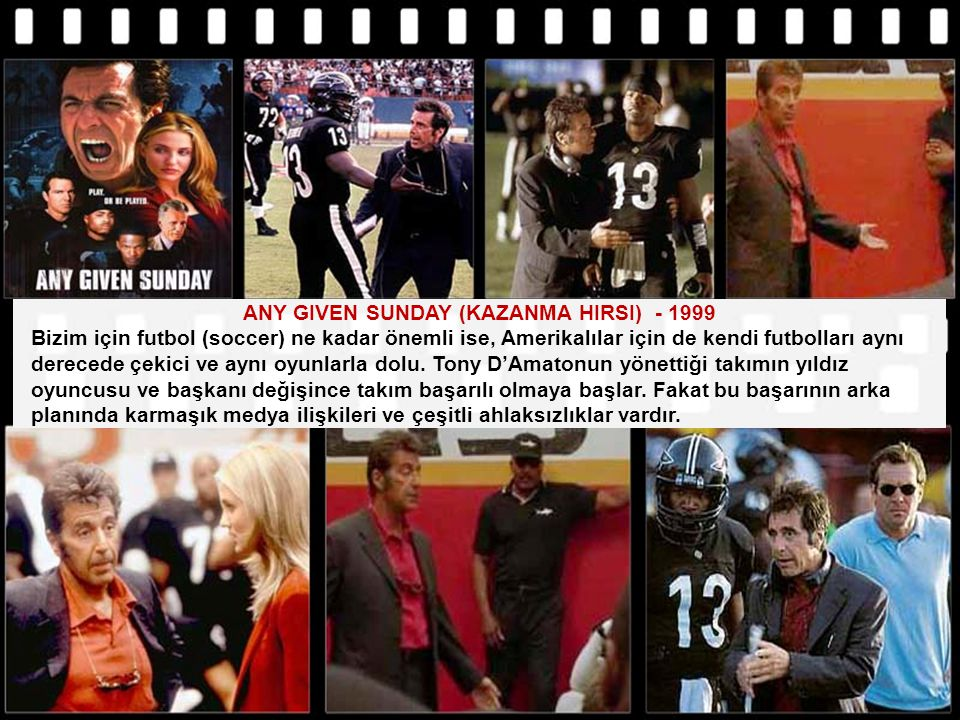ANY GIVEN SUNDAY (KAZANMA HIRSI) - 1999