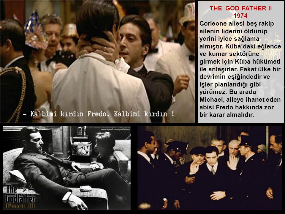 THE GOD FATHER II 1974.