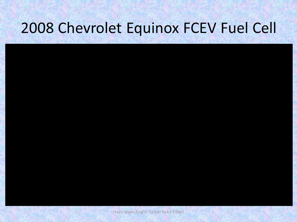 2008 Chevrolet Equinox FCEV Fuel Cell
