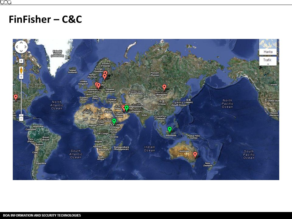 FinFisher – C&C BOA INFORMATION AND SECURITY TECHNOLOGIES