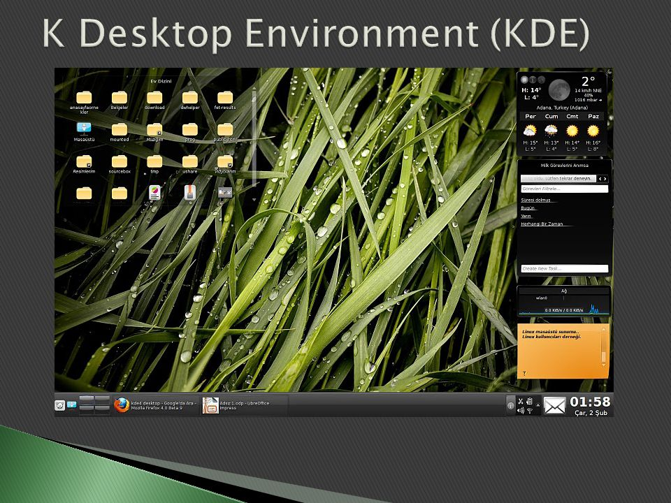 K Desktop Environment (KDE)