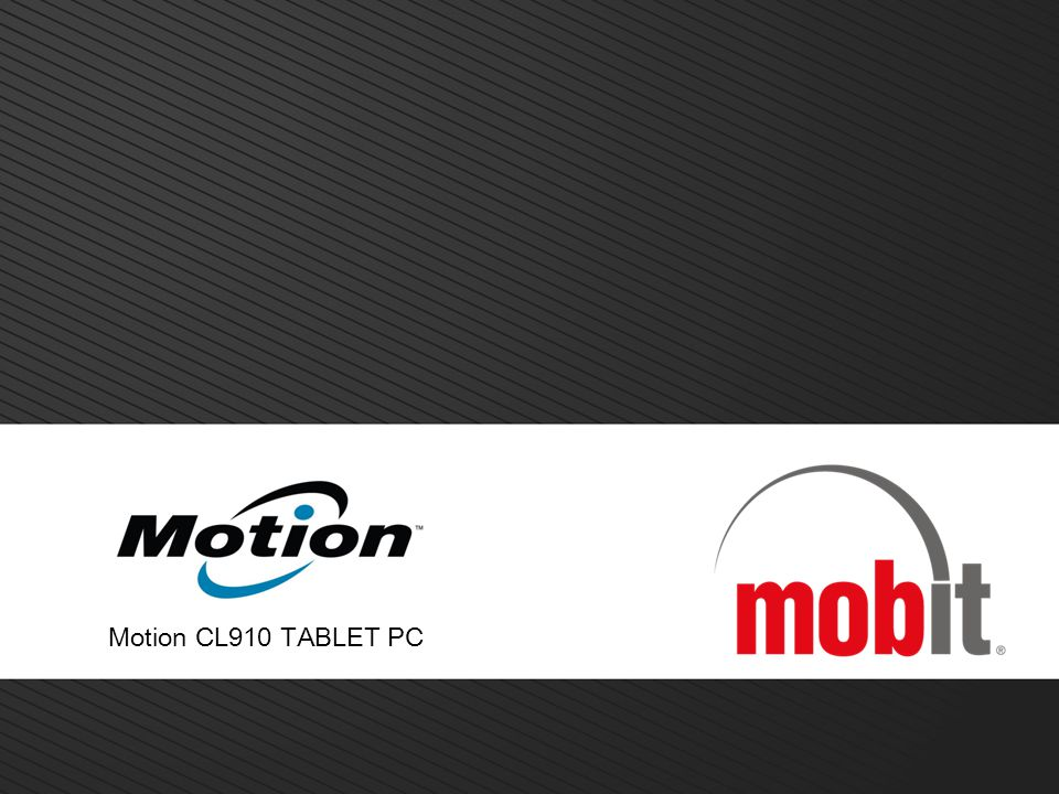 Motion CL910 TABLET PC 14