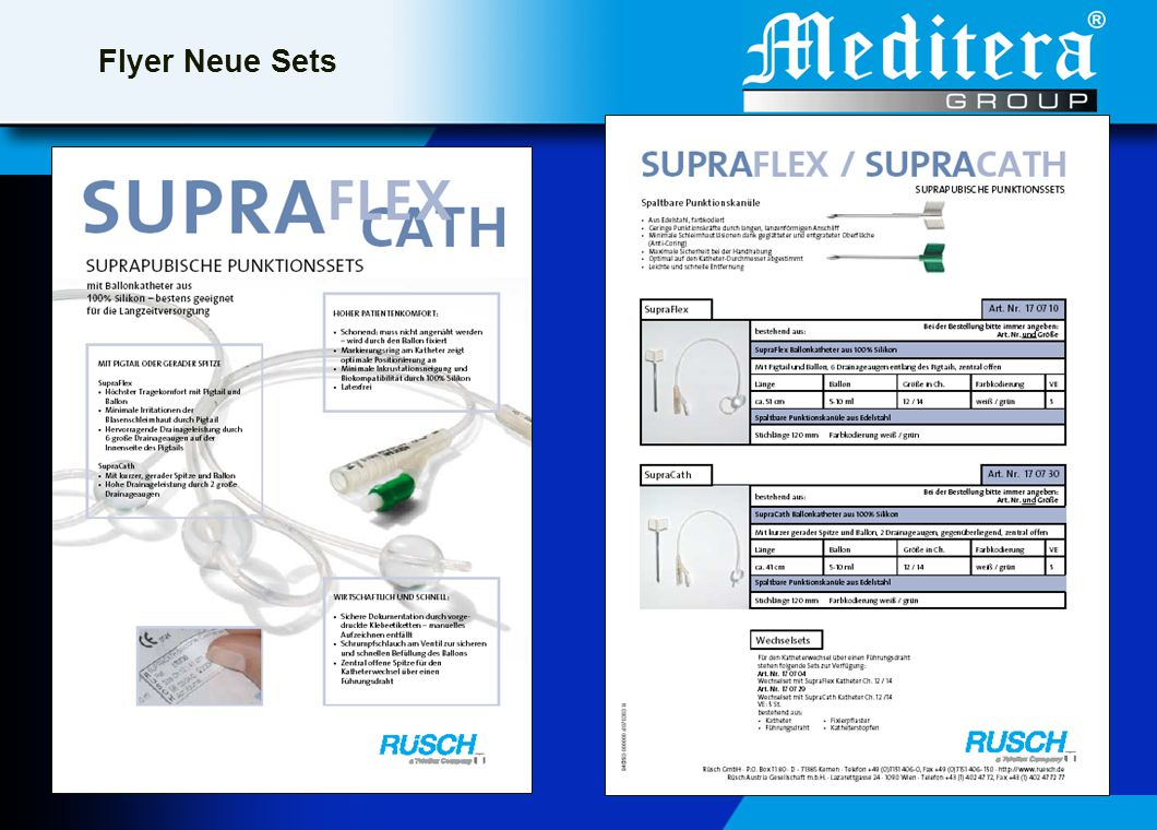 Flyer Neue Sets