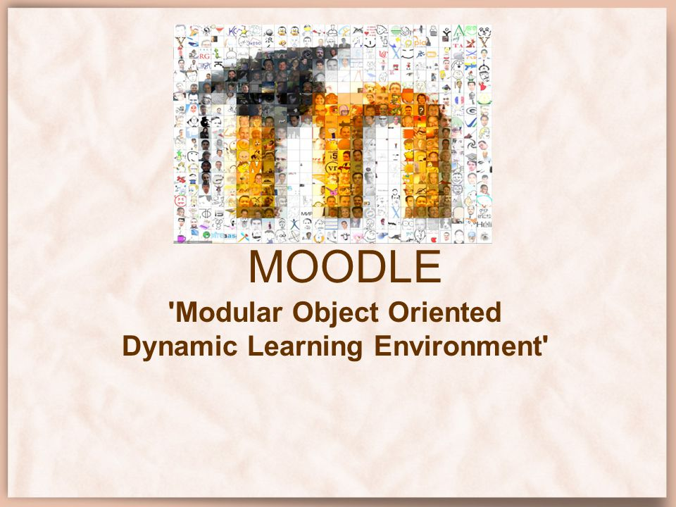 Modular Object Oriented Dynamic Learning Environment