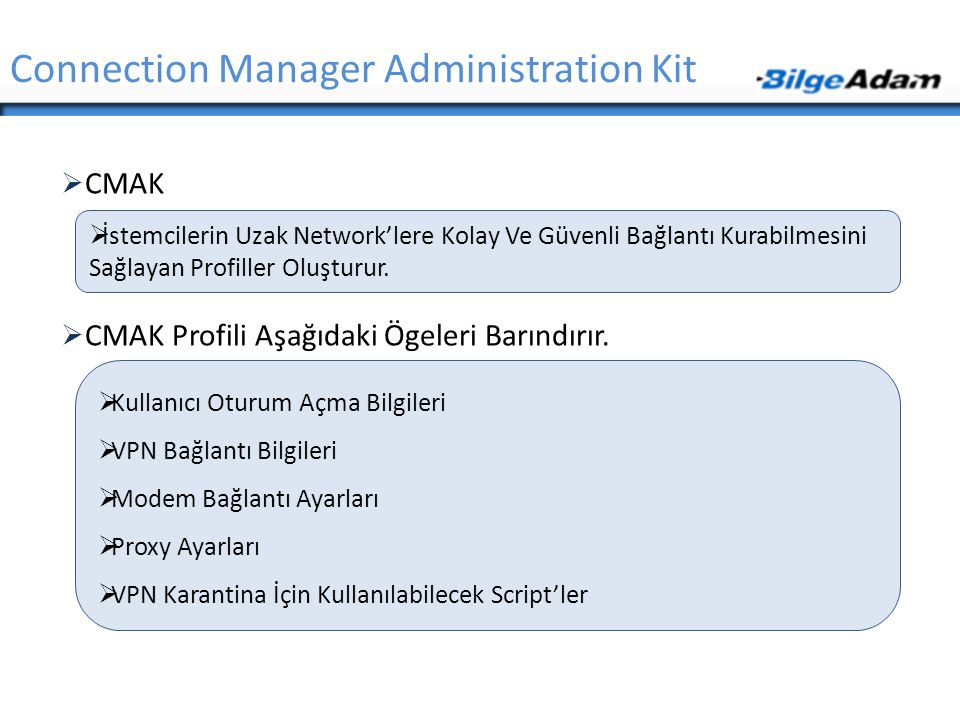 Connection Manager Administration Kit