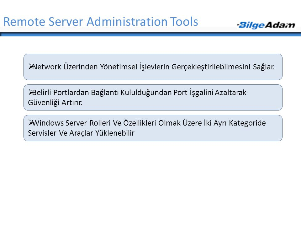 Remote Server Administration Tools
