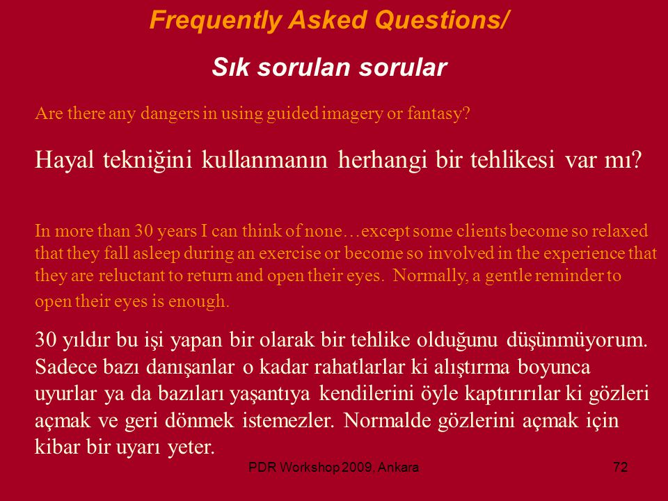 Frequently Asked Questions/