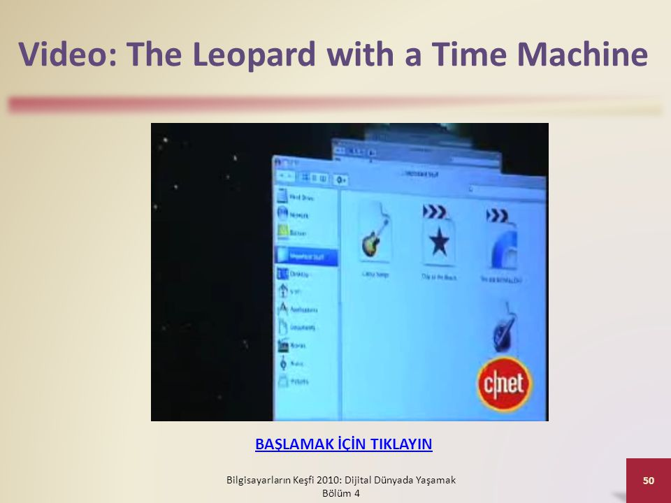 Video: The Leopard with a Time Machine