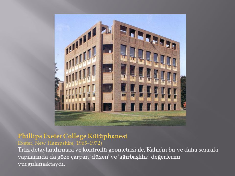 Phillips Exeter College Kütüphanesi