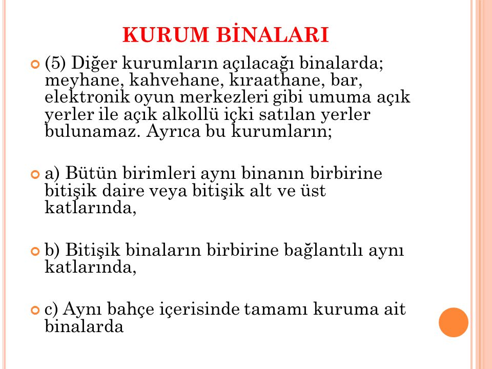 KURUM BİNALARI