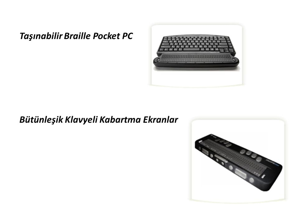 Taşınabilir Braille Pocket PC