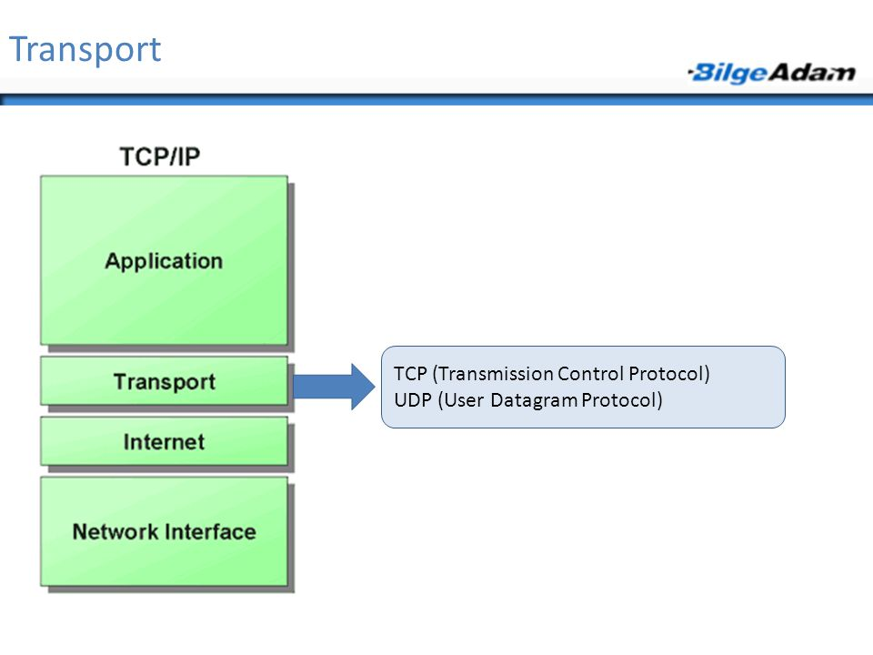 Transport TCP (Transmission Control Protocol)