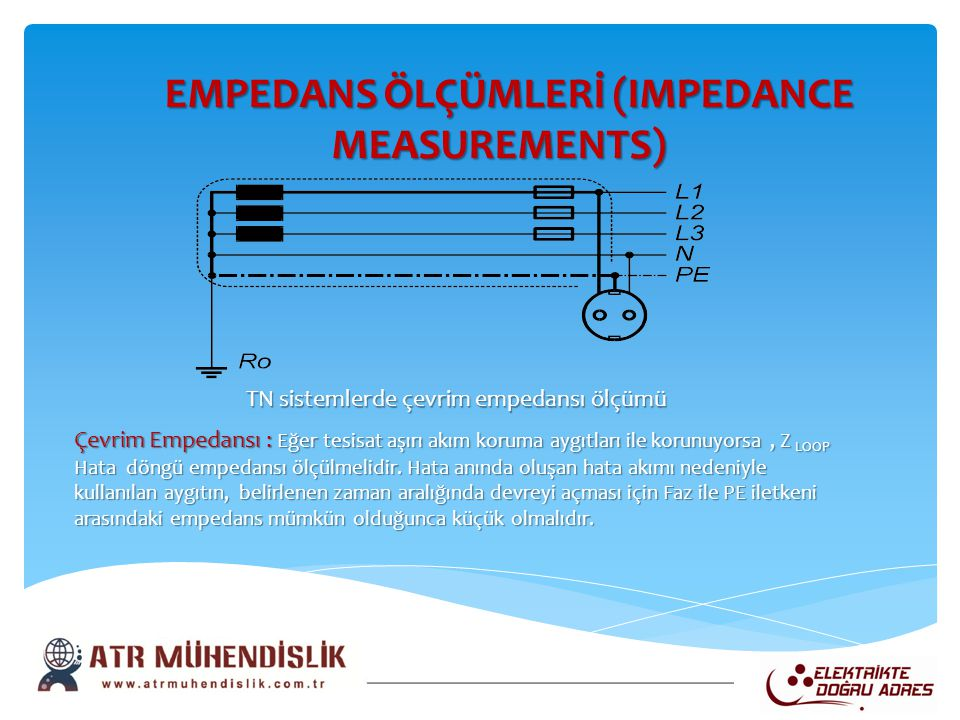 EMPEDANS ÖLÇÜMLERİ (IMPEDANCE MEASUREMENTS)