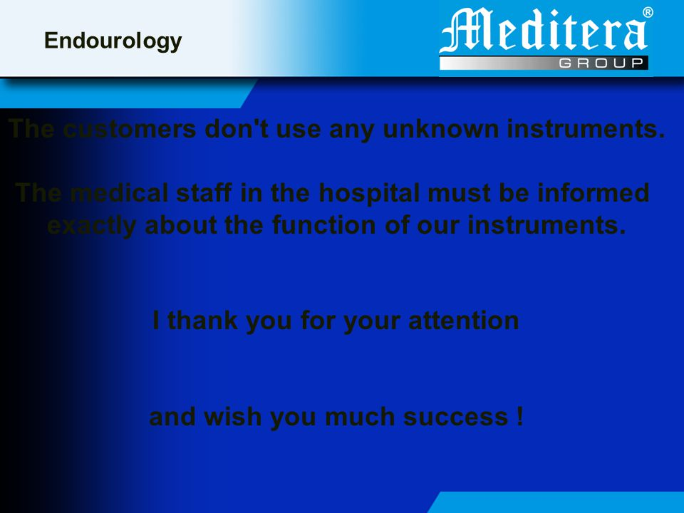 The customers don t use any unknown instruments.