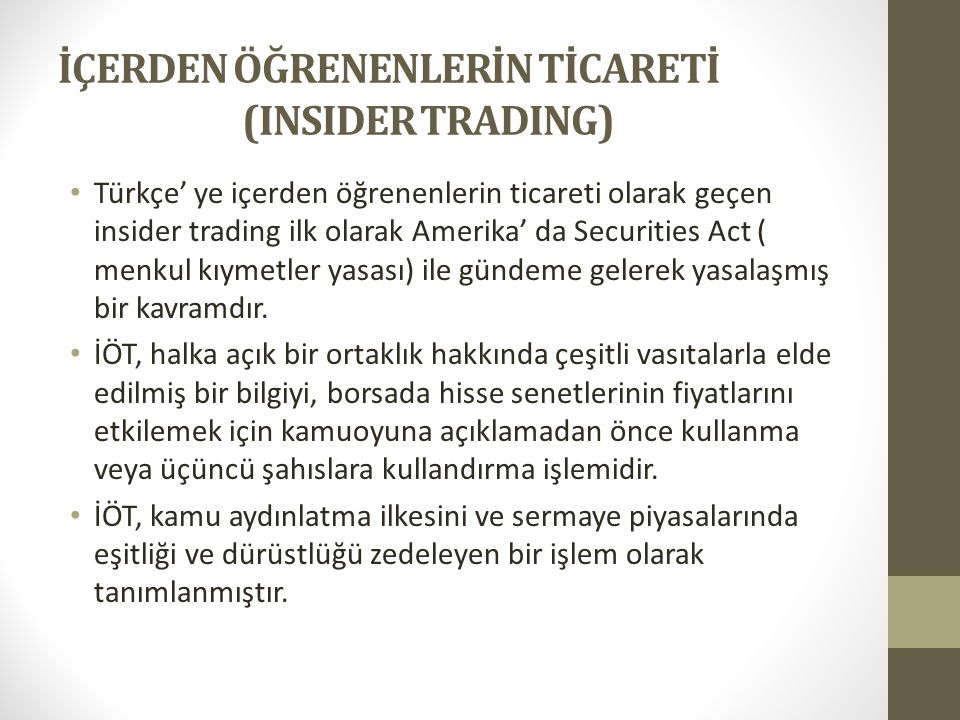 insider trading 2 essay First to be discussed is a concrete definition of insider trading as it is discussed in this essay according to the european communities 1989 insider dealing directive: insider trading is the dealing on the basis of materials unpublished, price-sensitive information possessed as a.
