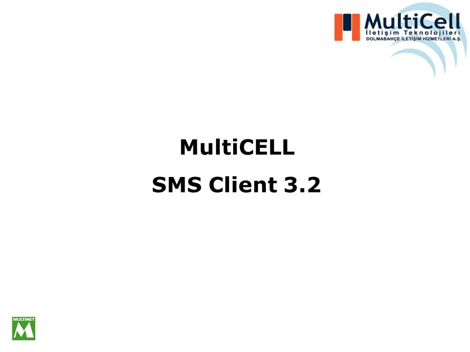 MultiCELL SMS Client 3.2