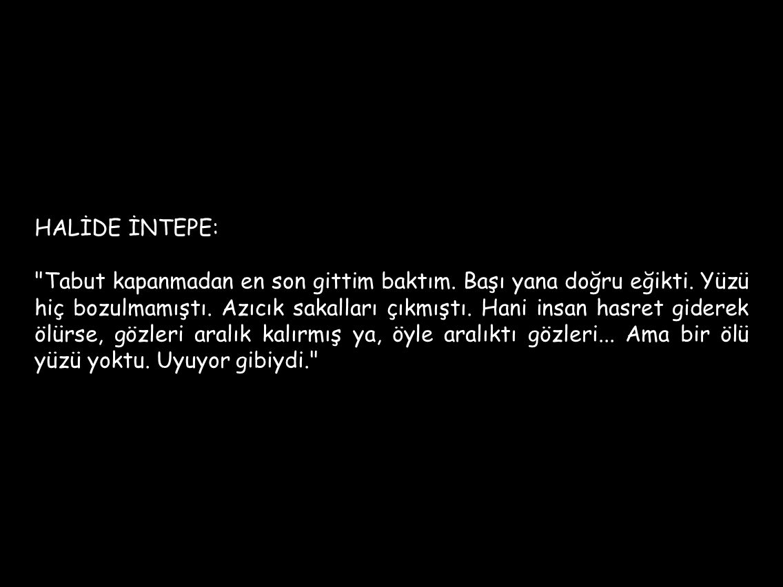 HALİDE İNTEPE: