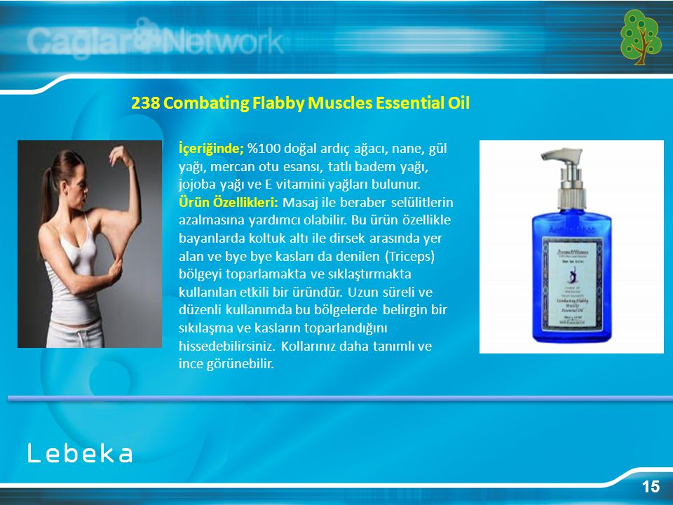 Lebeka 238 Combating Flabby Muscles Essential Oil 15