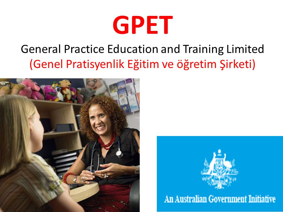 GPET General Practice Education and Training Limited