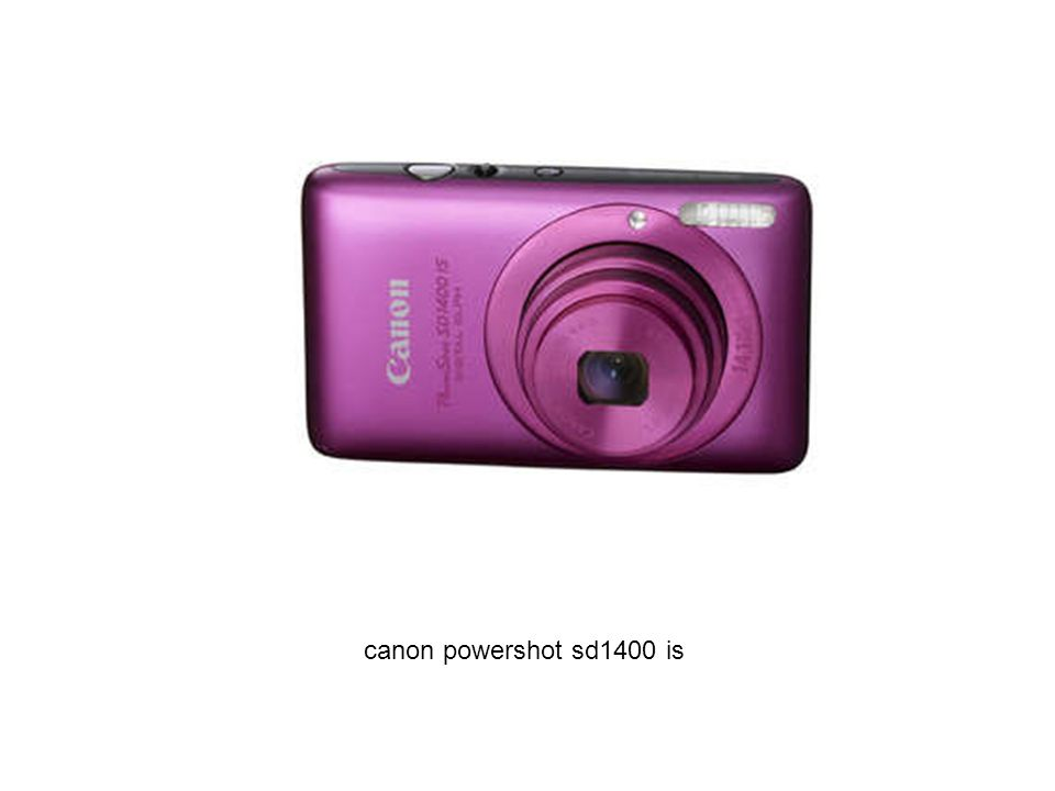 canon powershot sd1400 is