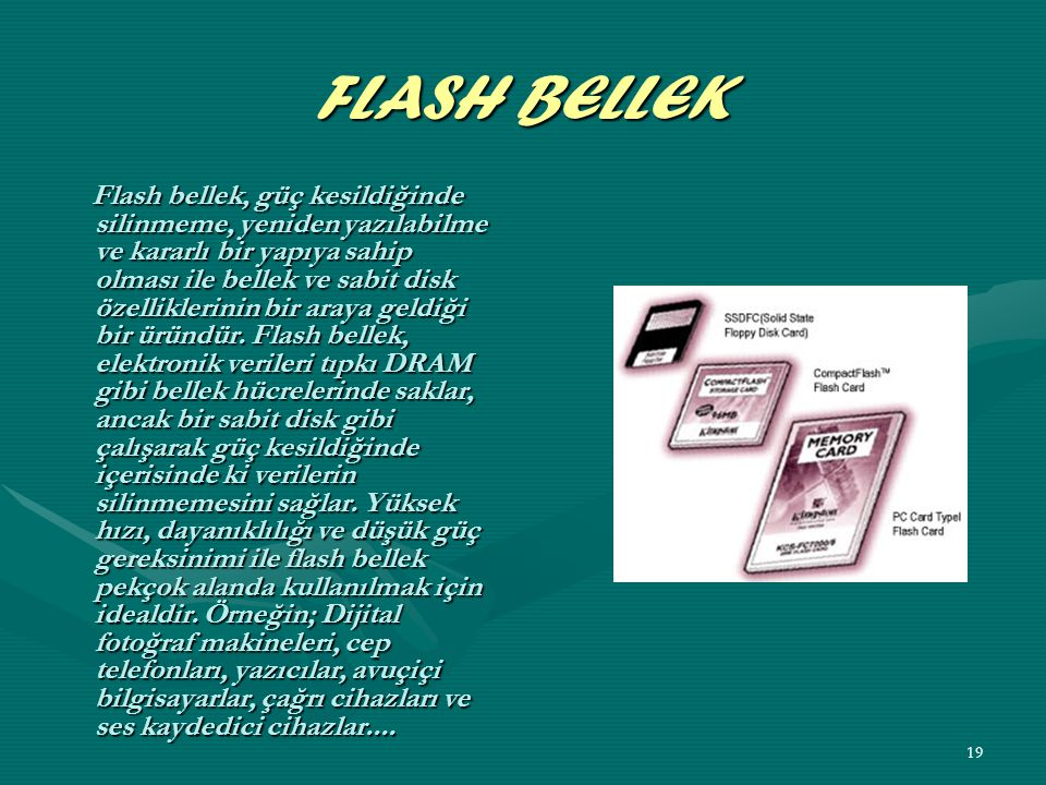 FLASH BELLEK
