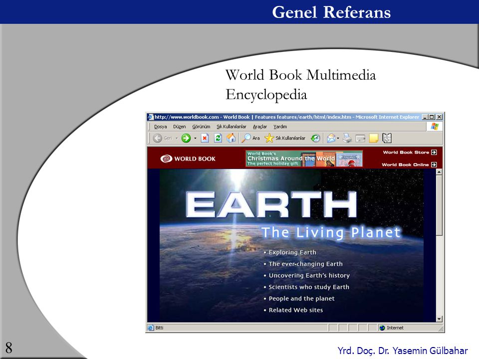 Genel Referans World Book Multimedia Encyclopedia