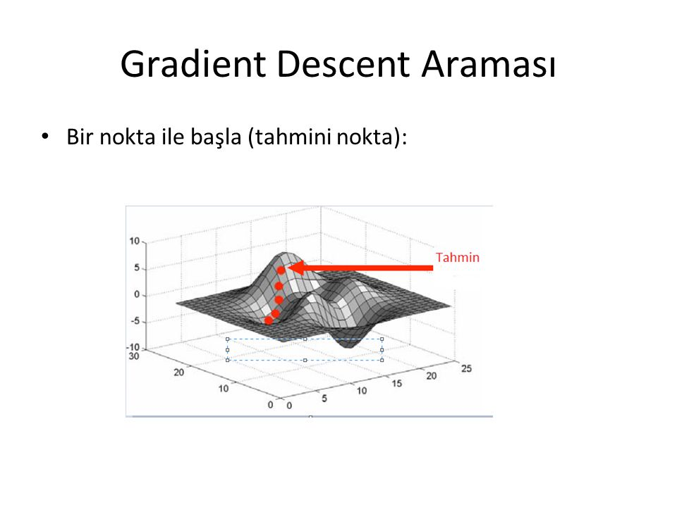 Gradient Descent Araması