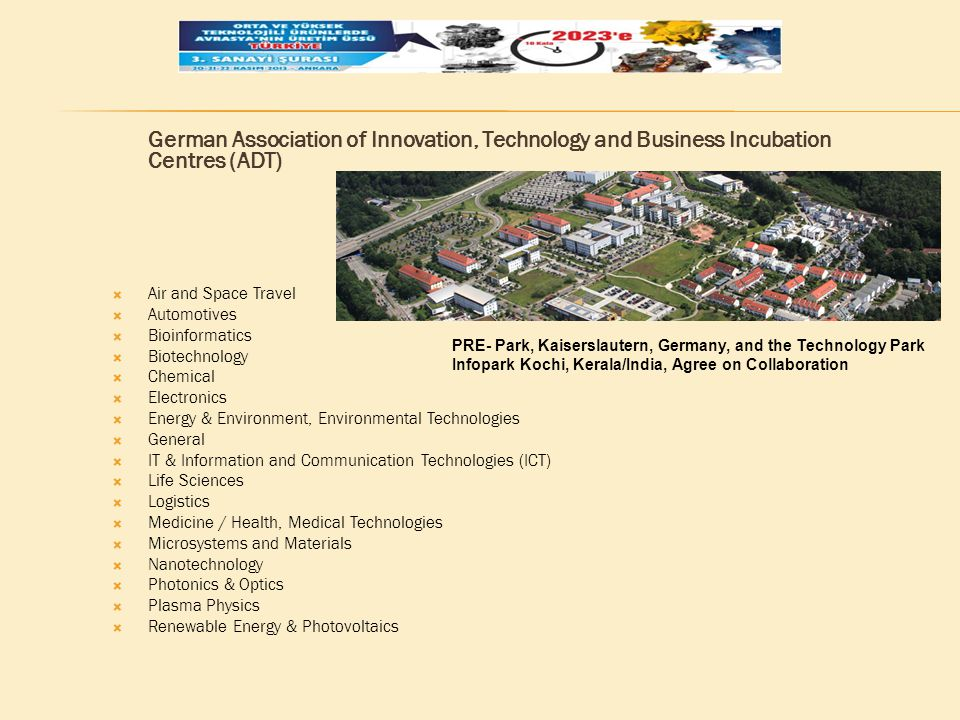 German Association of Innovation, Technology and Business Incubation Centres (ADT)