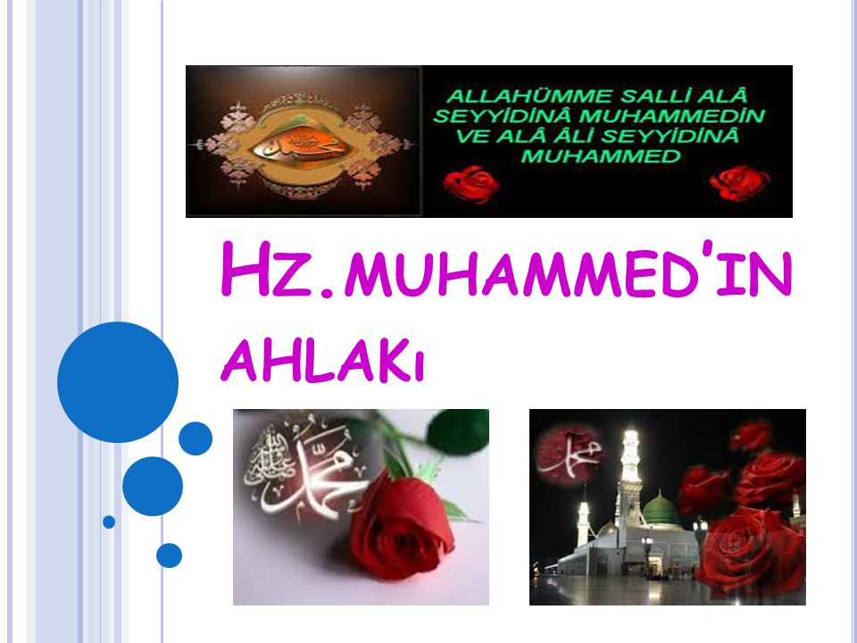 Hz.muhammed'in ahlakı