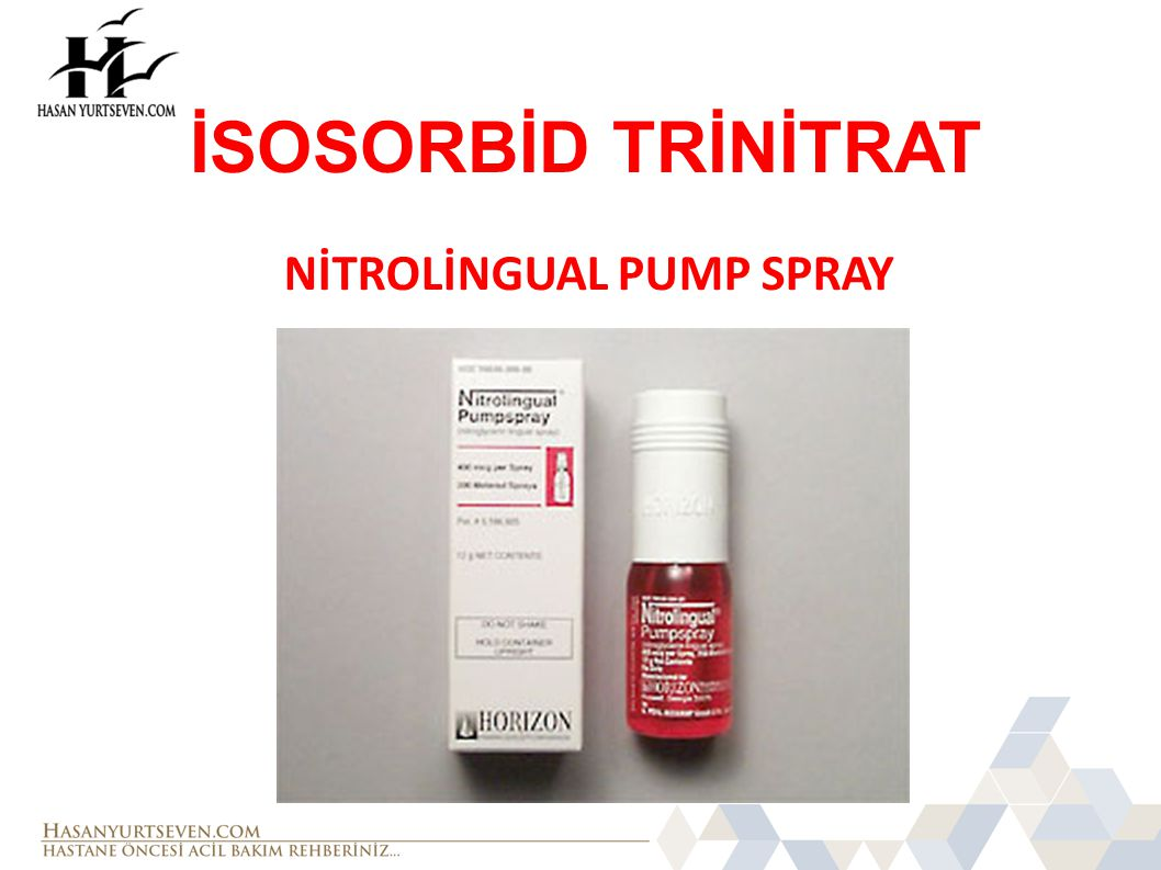 NİTROLİNGUAL PUMP SPRAY