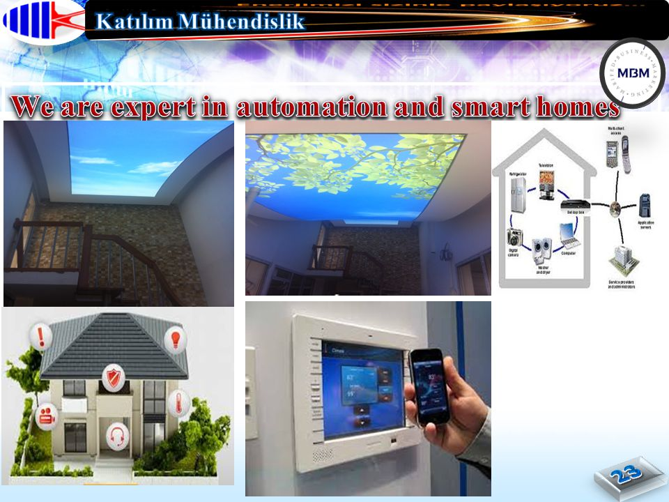 We are expert in automation and smart homes